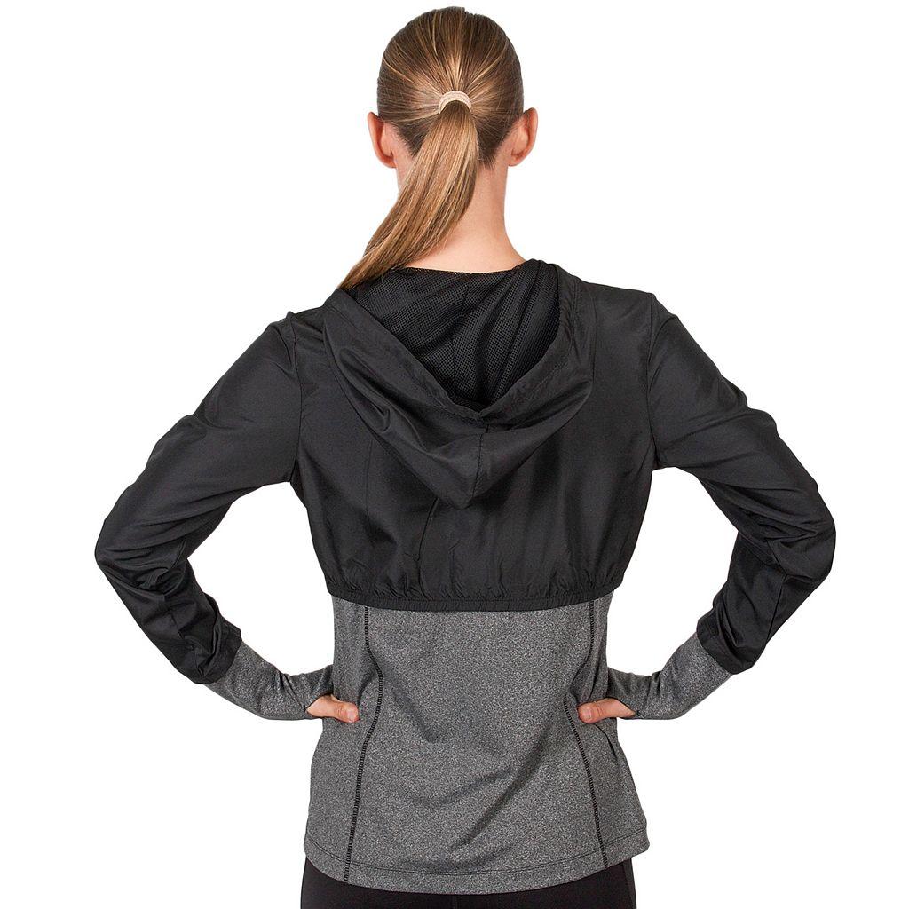 Women's Jockey Sport Propel Mixed Media Jacket