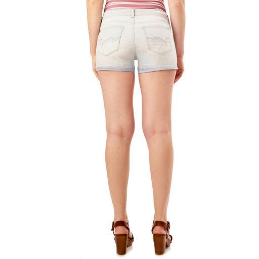 Juniors' Wallflower Legendary Jean Shortie Shorts