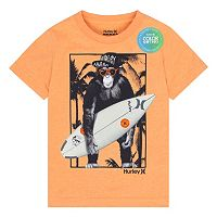 Boys 4-7 Hurley Monkey Biz Graphic Tee
