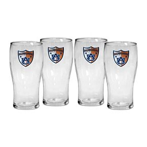 Auburn Tigers 4-Piece Pilsner Glass Set
