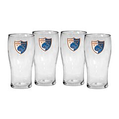 Boise State Broncos 4-Piece Pilsner Glass Set