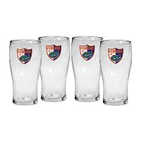 Florida Gators 4 pc Pilsner Glass Set
