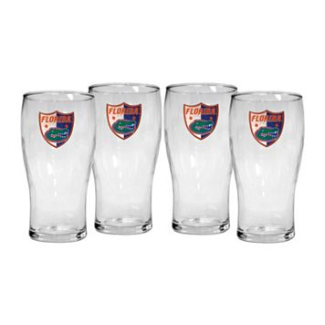 Florida Gators 4-Piece Pilsner Glass Set