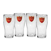 Iowa State Cyclones 4-Piece Pilsner Glass Set