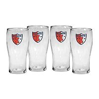 Illinois Fighting Illini 4 pc Pilsner Glass Set
