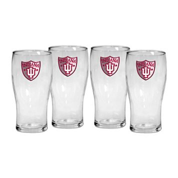 Indiana Hoosiers 4-Piece Pilsner Glass Set