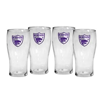 Kansas State Wildcats 4-Piece Pilsner Glass Set