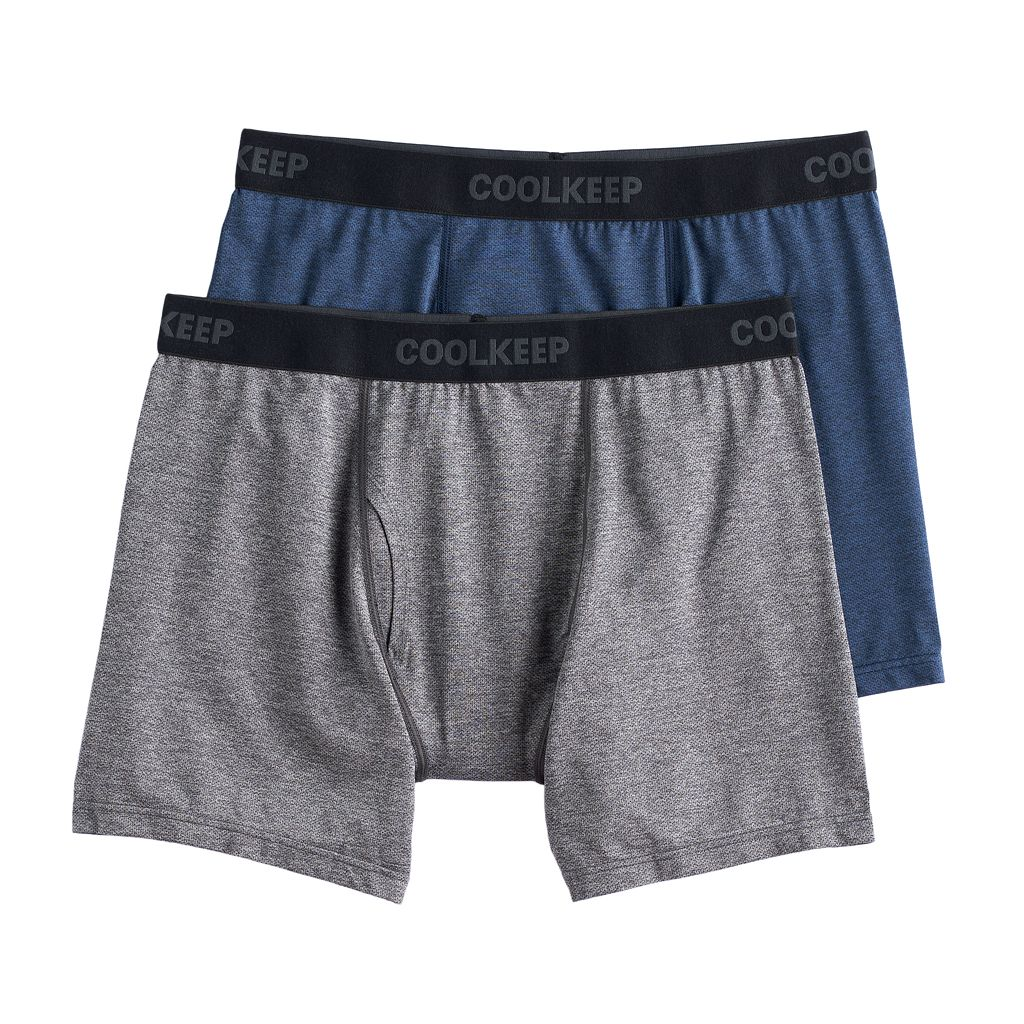 Men's CoolKeep 2-pack Techno Mesh Performance Boxer Briefs