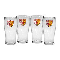 Maryland Terrapins 4-Piece Pilsner Glass Set