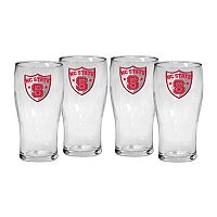 North Carolina State Wolfpack 4-Piece Pilsner Glass Set