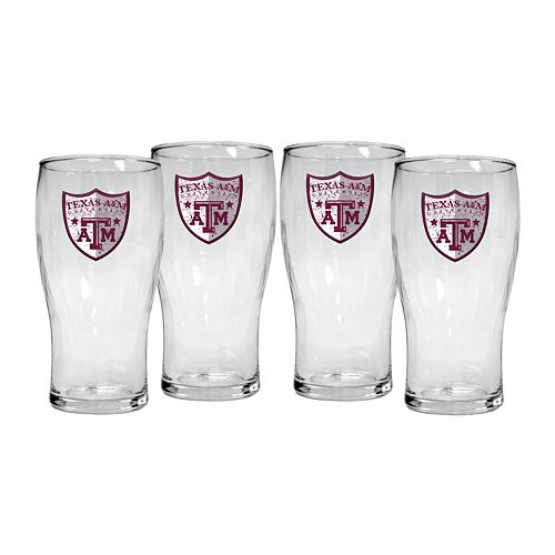 Texas A&M Aggies 4-Piece Pilsner Glass Set