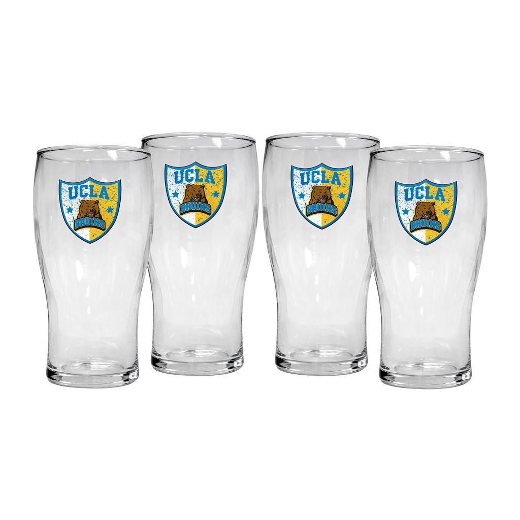 UCLA Bruins 4-Piece Pilsner Glass Set