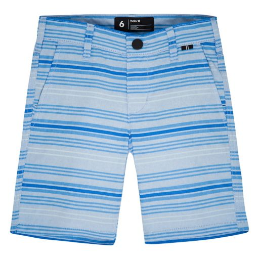 Boys 4-7 Hurley Striped Straight-Fit Shorts