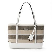 Dana Buchman Bella Striped Tote