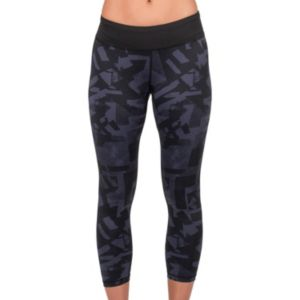 Women's Jockey Sport Geometric Workout Capri Leggings
