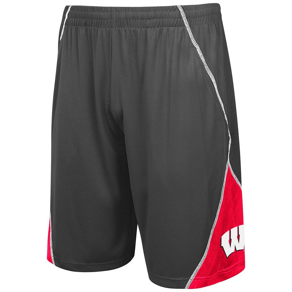 Men's Campus Heritage Wisconsin Badgers V-Cut Shorts