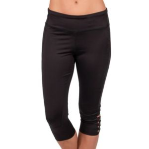 Women's Jockey Sport Strappy Capri Leggings