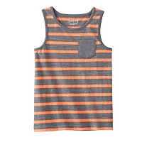 Toddler Boy Jumping Beans® Slubbed Striped Tank