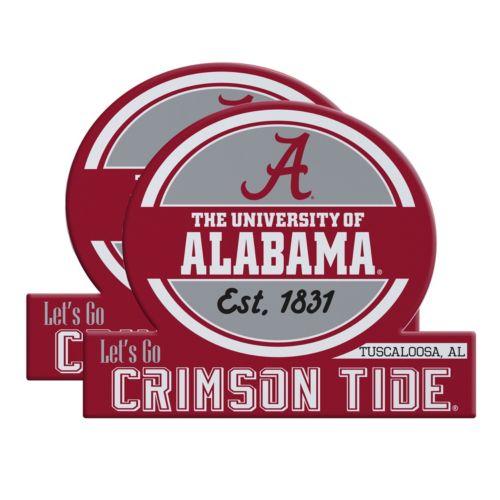 Alabama Crimson Tide Jumbo Tailgate Magnet 2-Pack