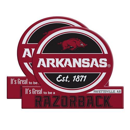 Arkansas Razorbacks Jumbo Tailgate Magnet 2-Pack