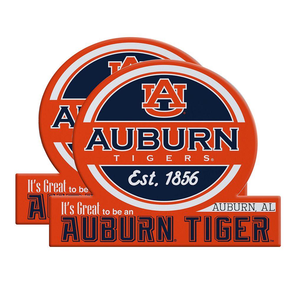 Auburn Tigers Jumbo Tailgate Magnet 2-Pack