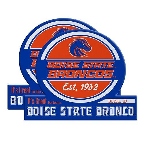 Boise State Broncos Jumbo Tailgate Magnet 2-Pack