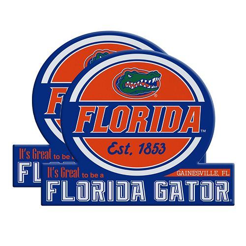 Florida Gators Jumbo Tailgate Magnet 2-Pack