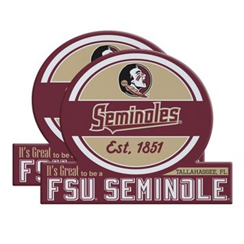 Florida State Seminoles Jumbo Tailgate Magnet 2-Pack