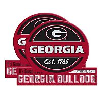 Georgia Bulldogs Jumbo Tailgate Magnet 2-Pack