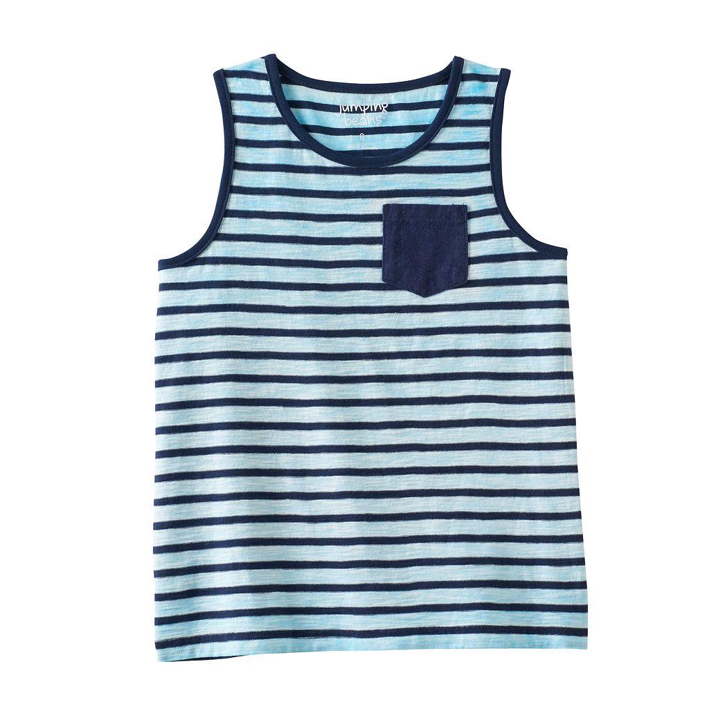 Toddler Boy Jumping Beans® Striped Slubbed Tank