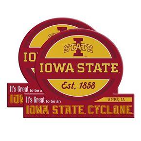 Iowa State Cyclones Jumbo Tailgate Magnet 2-Pack