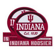 Indiana Hoosiers Jumbo Tailgate Magnet 2-Pack