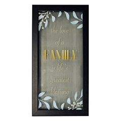 New View 'Family' Framed Wall Art