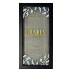 "New View ""Family"" Framed Wall Art"