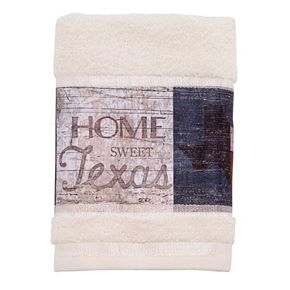 Avanti Home Sweet Texas Hand Towel
