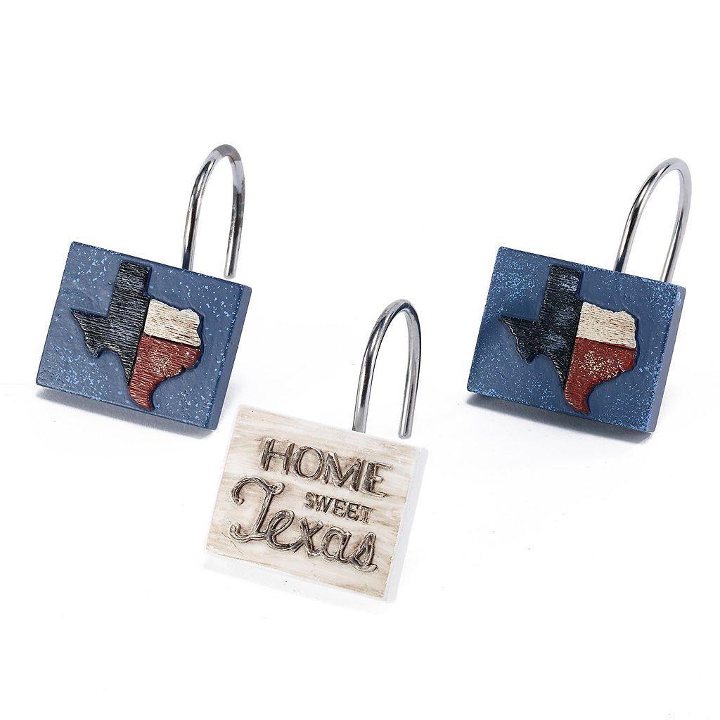 Avanti 12-pack Home Sweet Texas Shower Curtain Hook