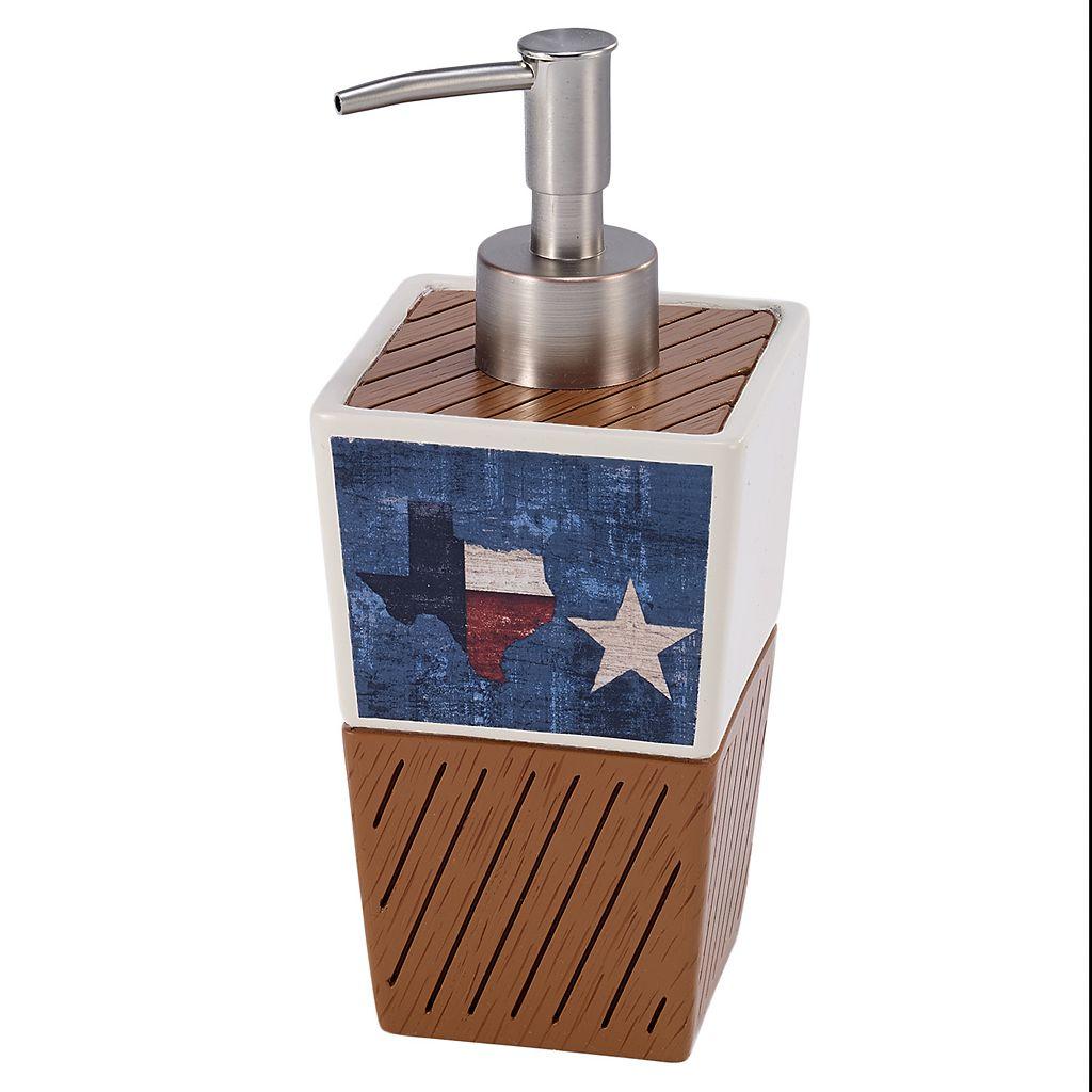 Avanti Home Sweet Texas Soap Dispenser