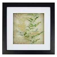New View Fern Leaves Framed Wall Art