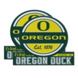 Oregon Ducks Jumbo Tailgate Magnet 2-Pack