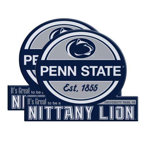Penn State Nittany Lions Jumbo Tailgate Magnet 2-Pack