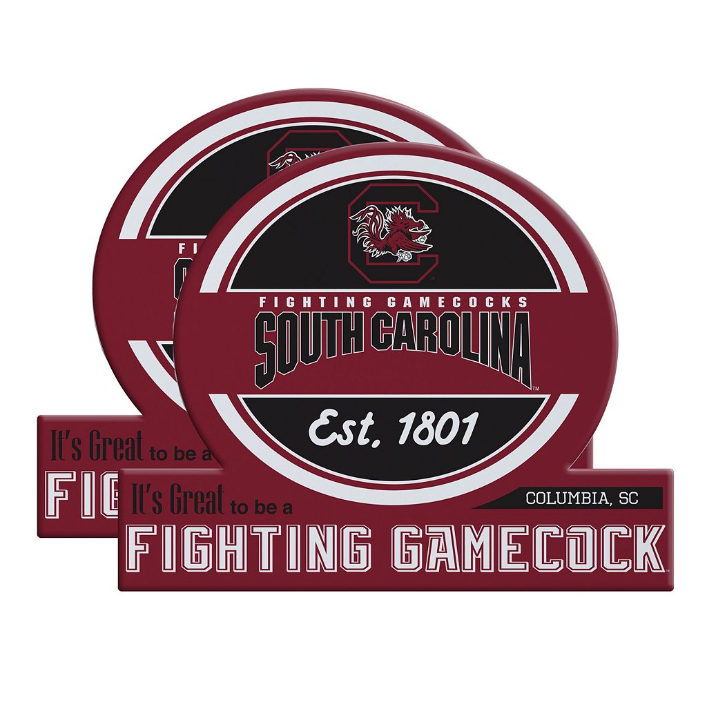 South Carolina Gamecocks Jumbo Tailgate Magnet 2-Pack