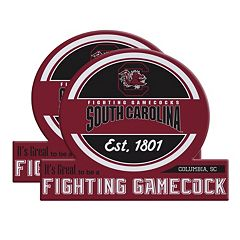 South Carolina Gamecocks Jumbo Tailgate Magnet 2-Pack
