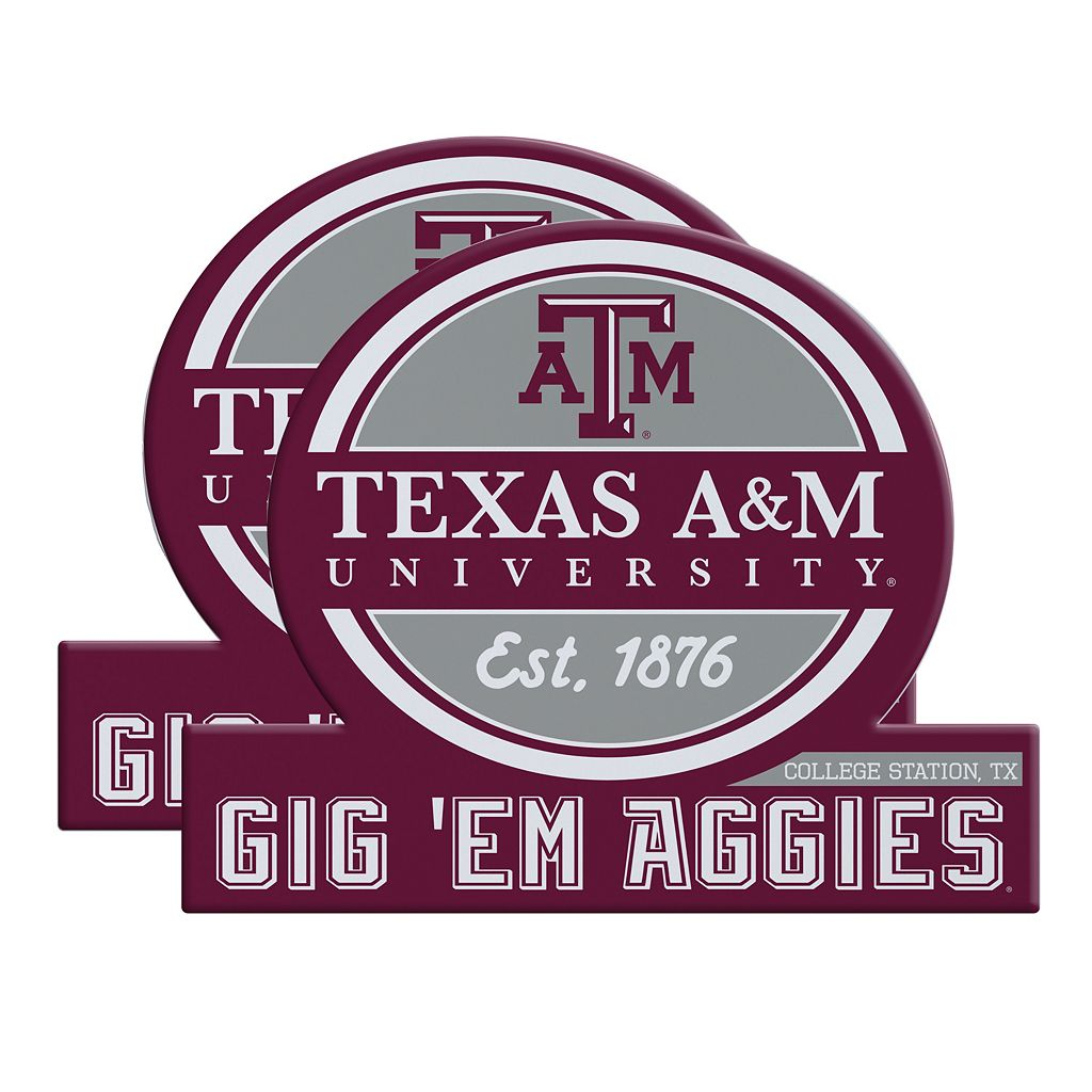 Texas A&M Aggies Jumbo Tailgate Magnet 2-Pack
