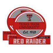 Texas Tech Red Raiders Jumbo Tailgate Magnet 2-Pack
