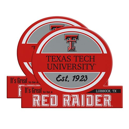 Texas Tech Red Raiders Jumbo Tailgate Magnet 2-Pack