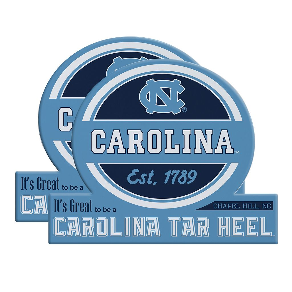 North Carolina Tar Heels Jumbo Tailgate Magnet 2-Pack