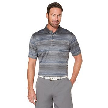 Men's Grand Slam Regular-Fit Argyle Jacquard Performance Golf Polo