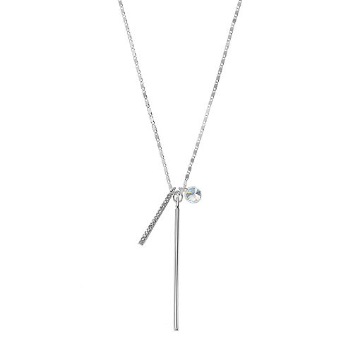 LC Lauren Conrad Bar Charm Necklace