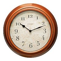 Chaney Antique Copper Finish Wall Clock