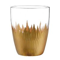 Qualia Lava Gold 4 pc Double Old-Fashioned Glass Set